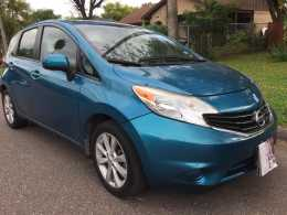 Nissan versa 2014 version americana  NEGOCIABLE !!