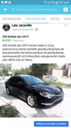 200 limited 2015 recién traído