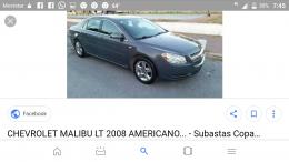 Malibu 2008, americano motor 2.4