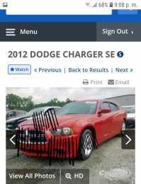 Partes Dodge charger 2011-2014