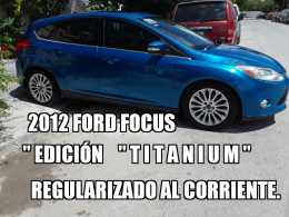 "2012 FORD FOCUS"" TITANIUM""(REGULARIZADO) TOMÓ A CUENTA SU AUTO"