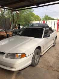 Mustang convertible 95 automático 6 cil
