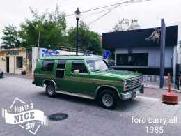 FORD CARRY ALL 1985