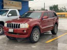 JEEP GRAND CHEROKEE 2007 8cil RT OVERLAND 4x4 MEXICANA100%