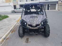 CAN AM RZR titulo azul impecable