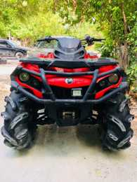 CUATRIMOTO OUTLANDER 800 AÑO 2014 4X4 CAN-AM